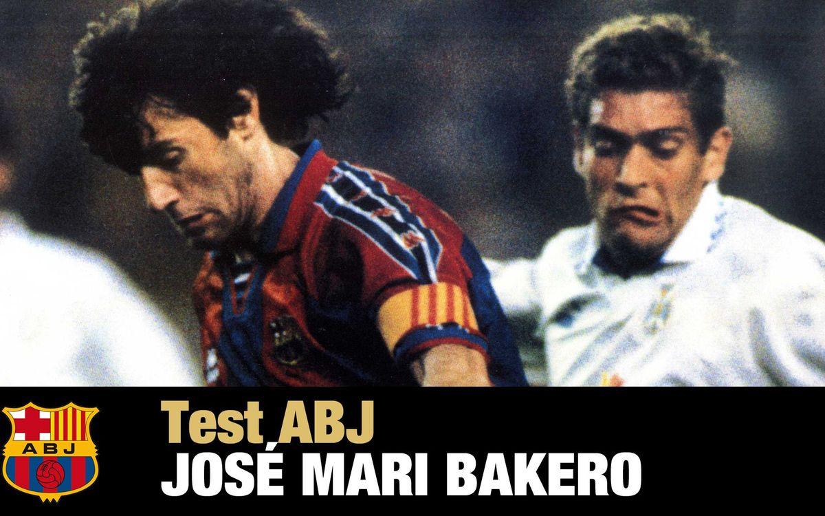 Jose Mari Bakero: