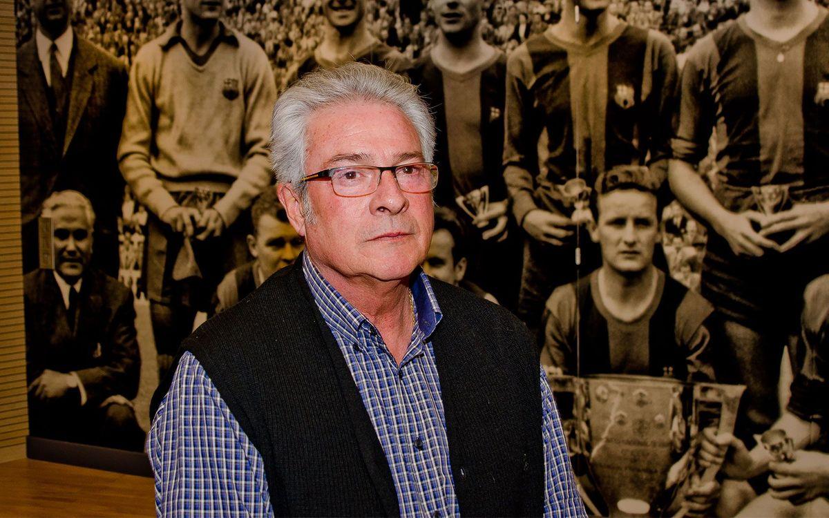 Mor Joan Puig, exjugador del Barça i directiu de l'ABJ