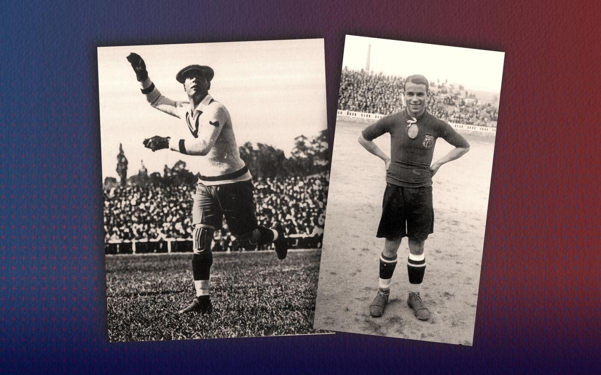 100 years since Josep Samitier and Ricardo Zamora made their debuts