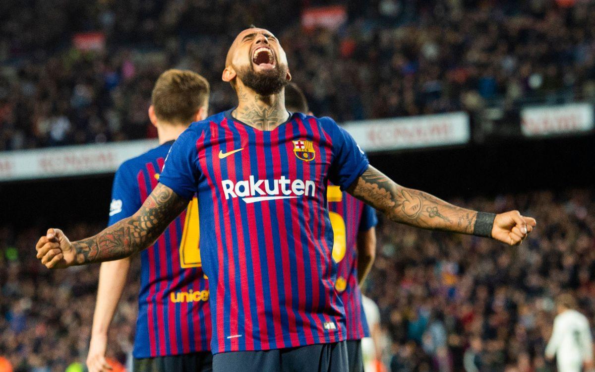 Arturo Vidal Madrid 5-1