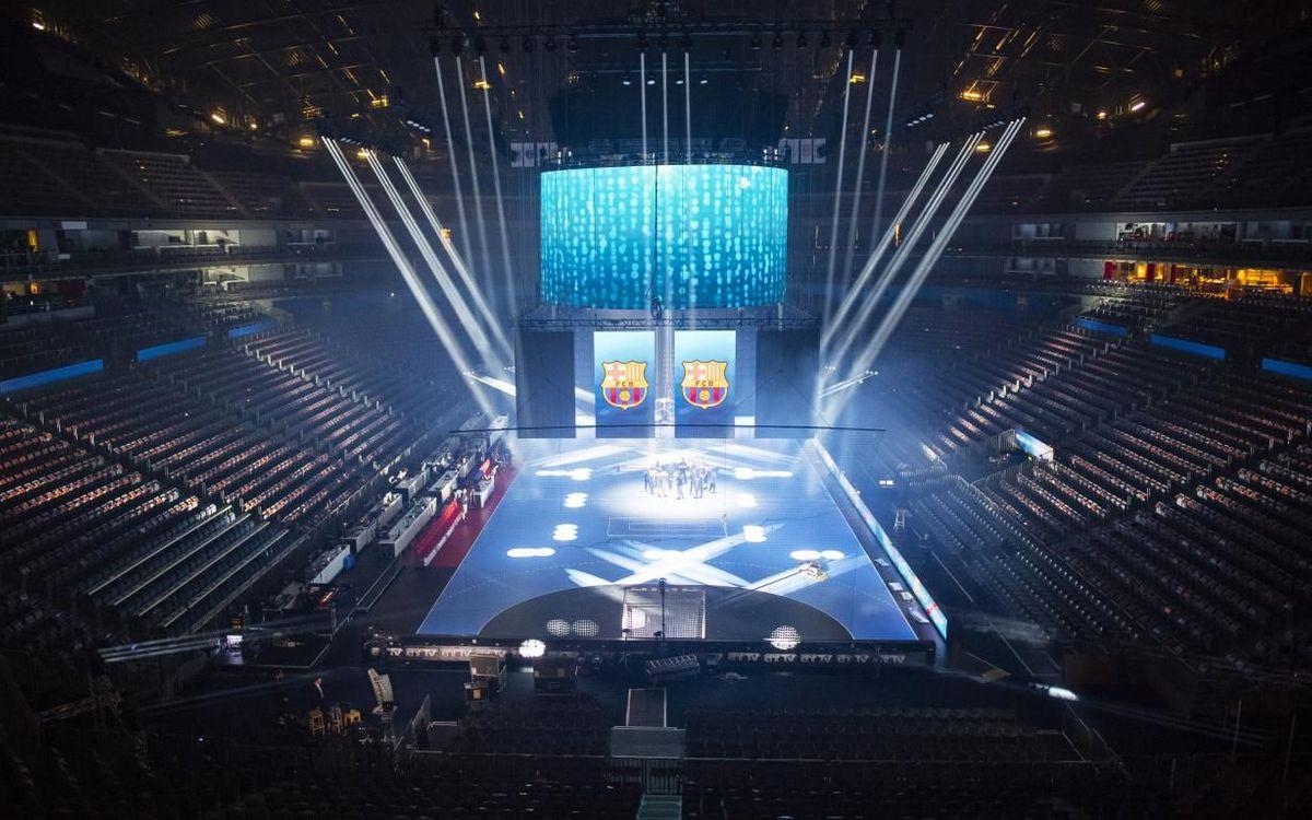 Així llueix el Lanxess Arena en la prèvia de les semifinals - VÍCTOR SALGADO