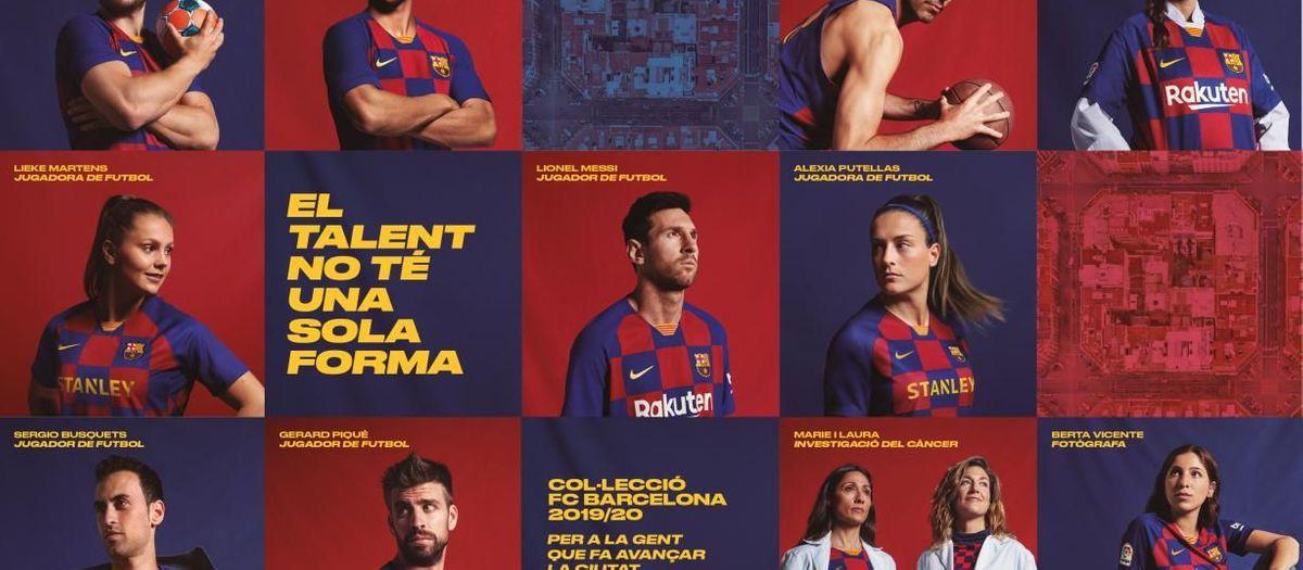 La nova samarreta blaugrana expressa la passió per Barcelona i s'inspira en els característics blocs de l'Eixample