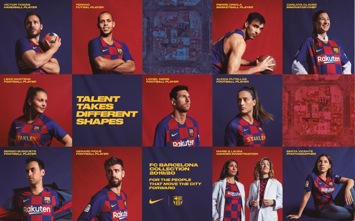 the best attitude 30a70 8983f New FC Barcelona jersey expresses the Club's passion for the ...