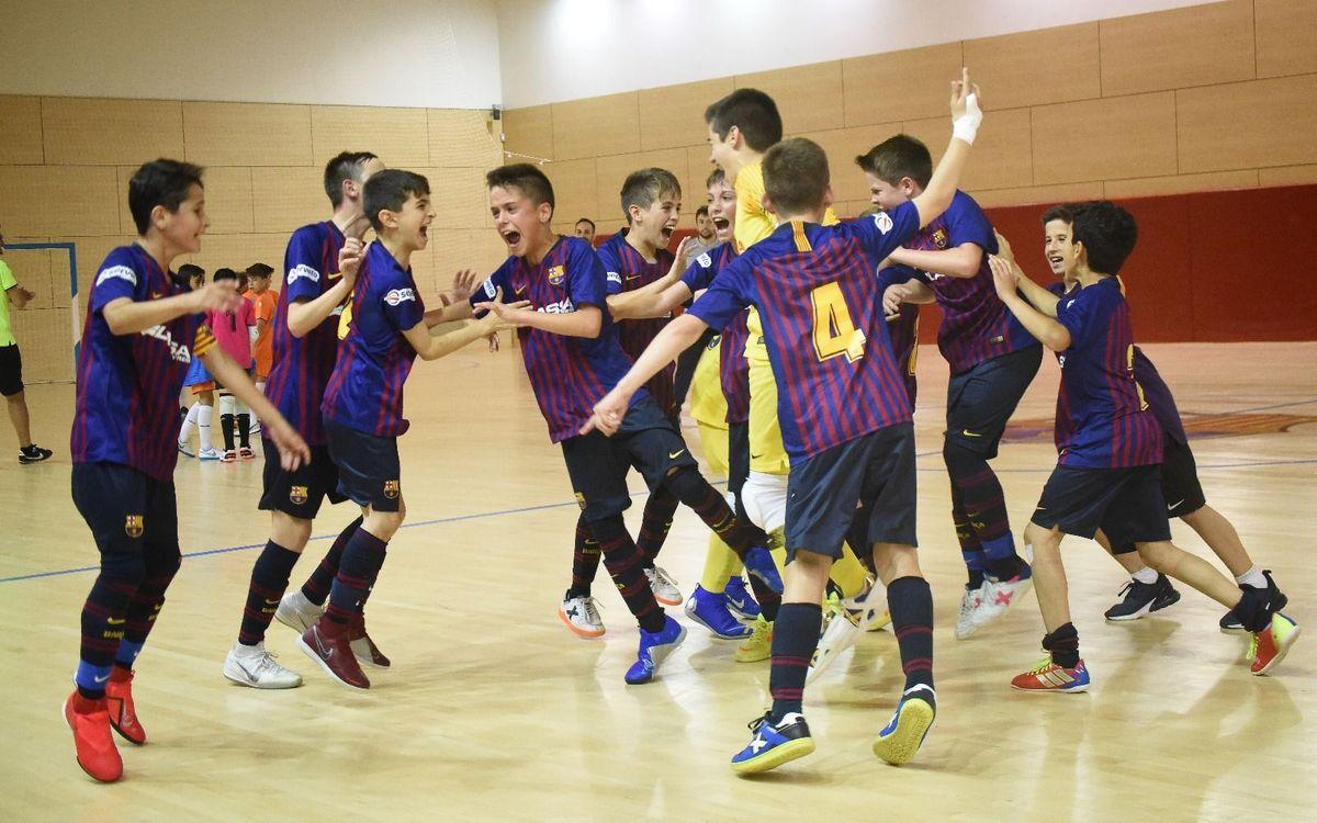 Tres equipos en la fase final del Campeonato de España