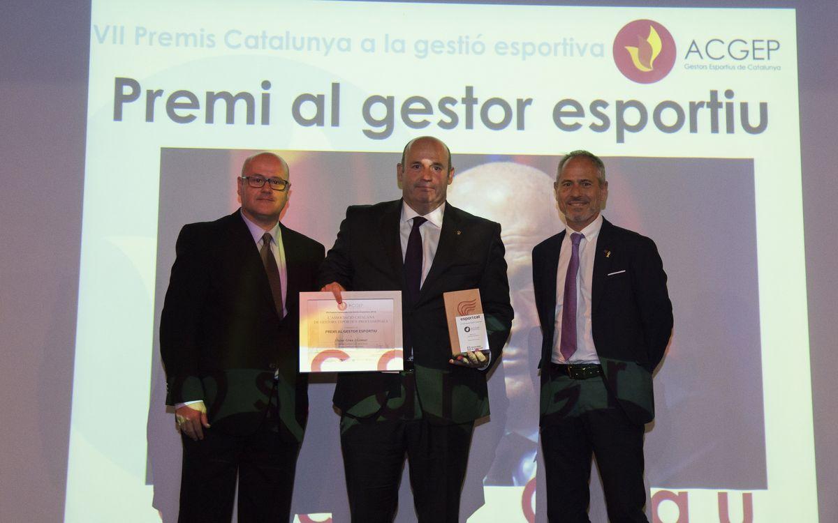 Òscar Grau, elegido mejor gestor deportivo