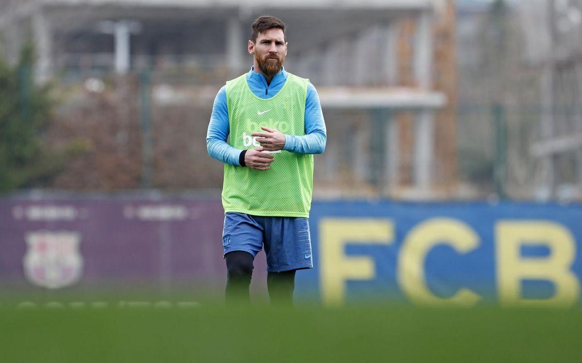 Messi, un pare més a la Barça Academy