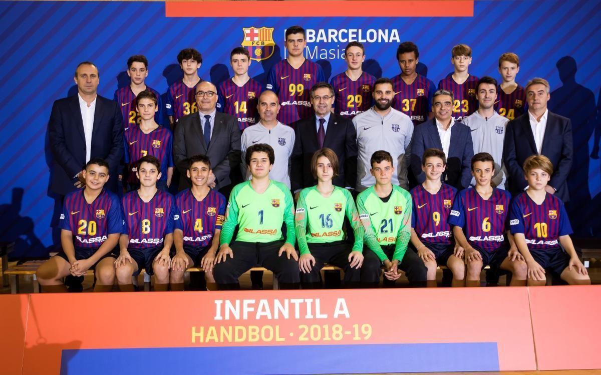 El Infantil A de Campeonato de España