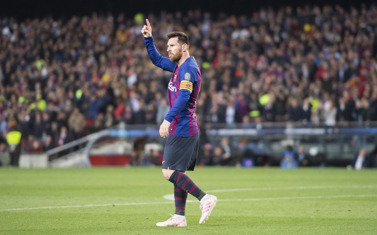 Messi, auteur du plus beau but de la Ligue des Champions 18-19