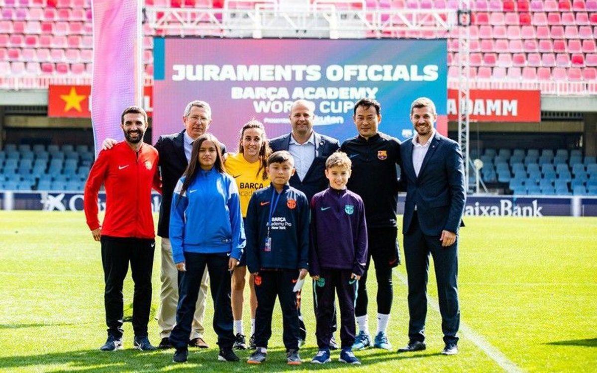 Inaugurada la Barça Academy World Cup 2019 presented by Rakuten, la més gran de la història
