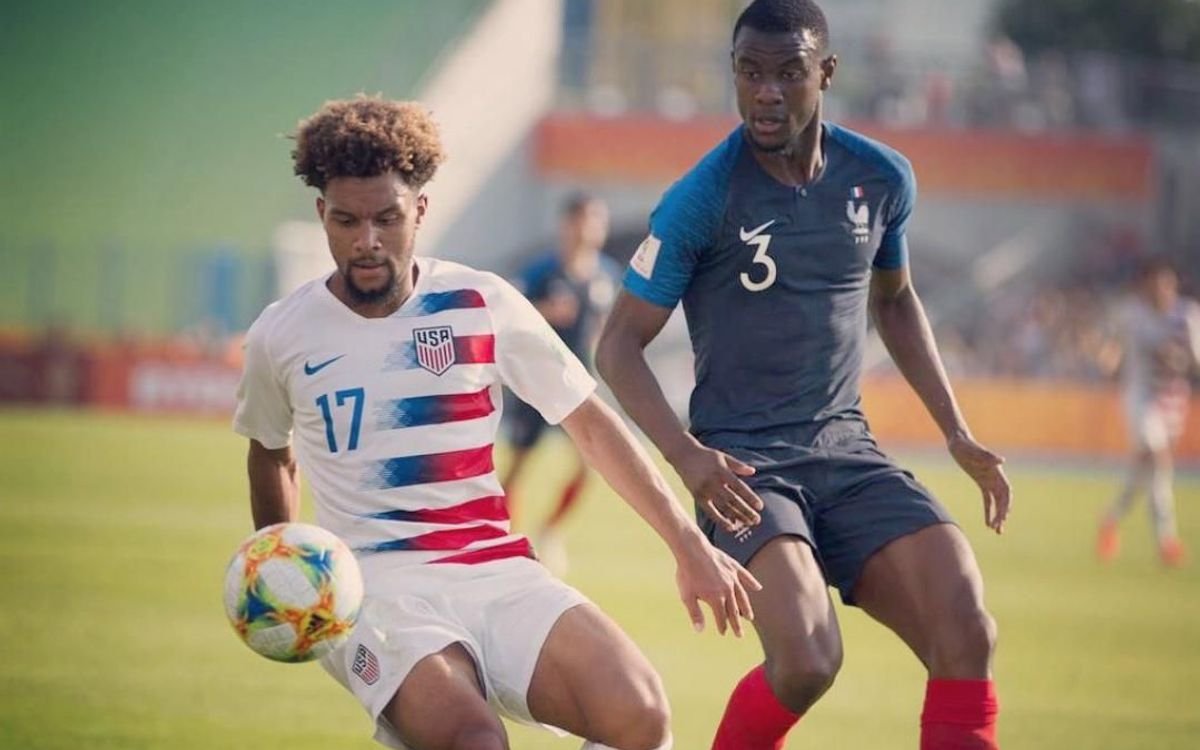 Konrad de la Fuente and US make U20 World Cup quarters