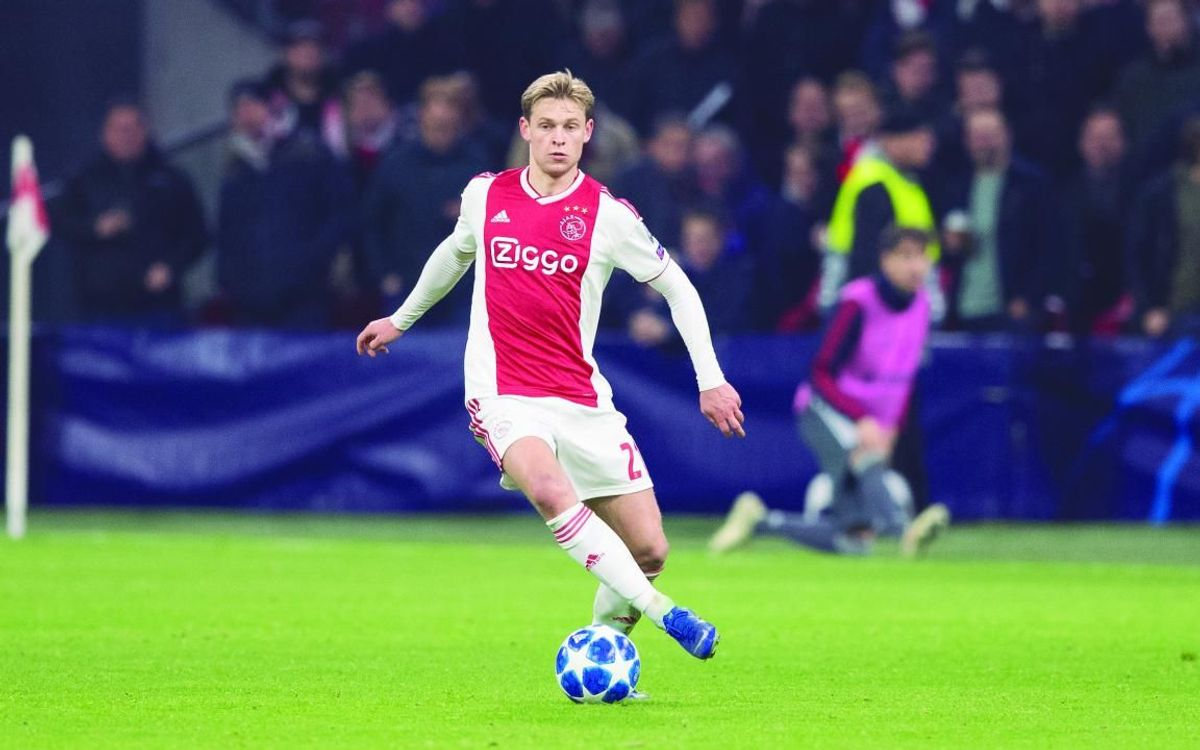 Frenkie De Jong: A name for the future