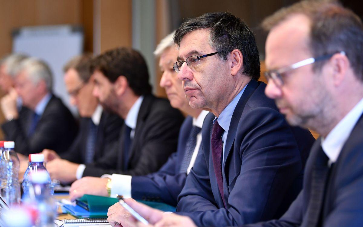 Bartomeu, presente en la Asamblea Extraordinaria de la ECA en Malta