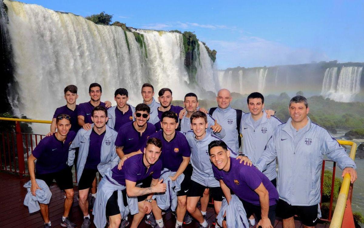 El filial, en Brasil para disputar el Mundial sub20
