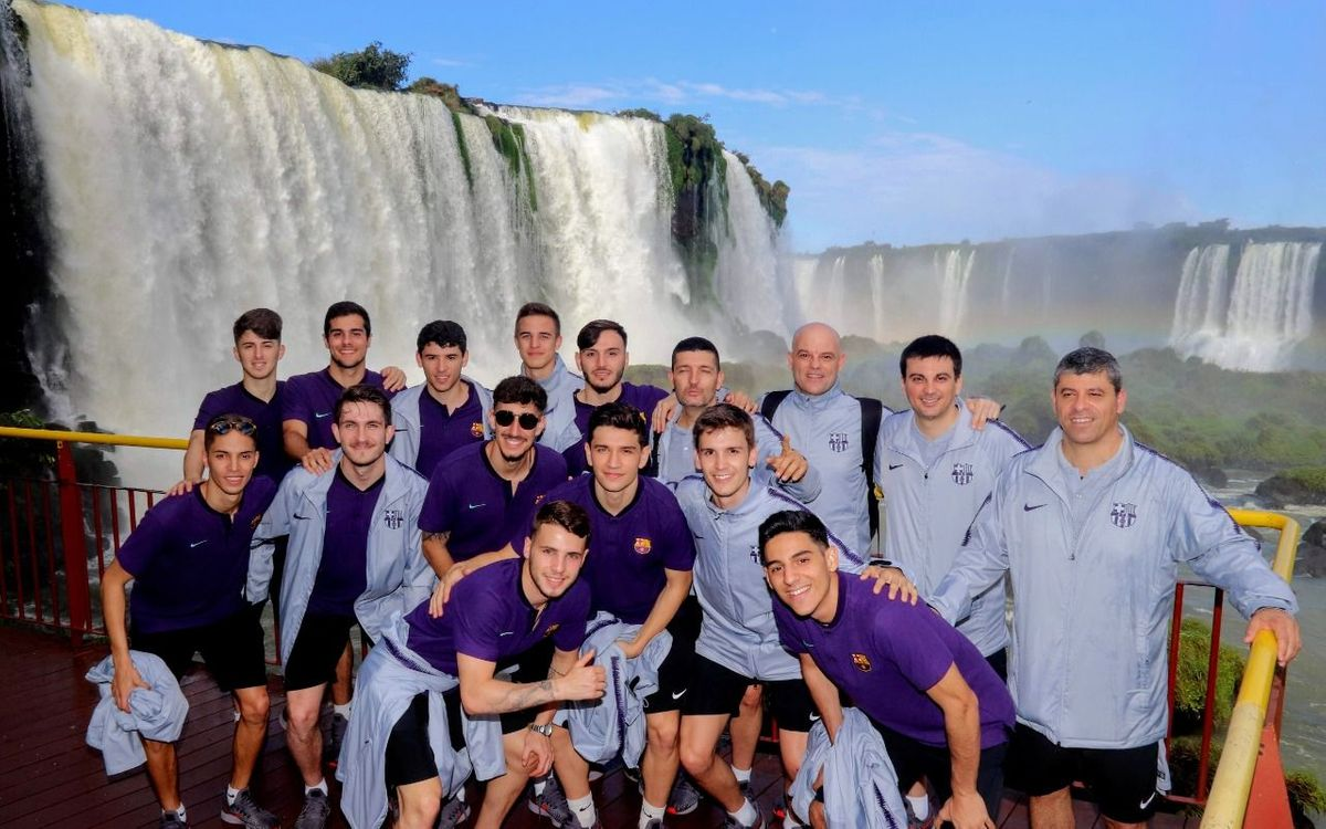 El filial, al Brasil per disputar el Mundial sub20