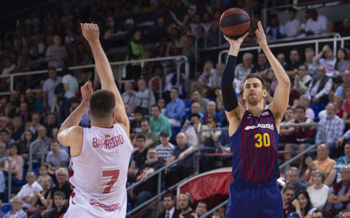 Barça Lassa - Tecnyconta Saragossa: Sense confiances i amb la mateixa il·lusió