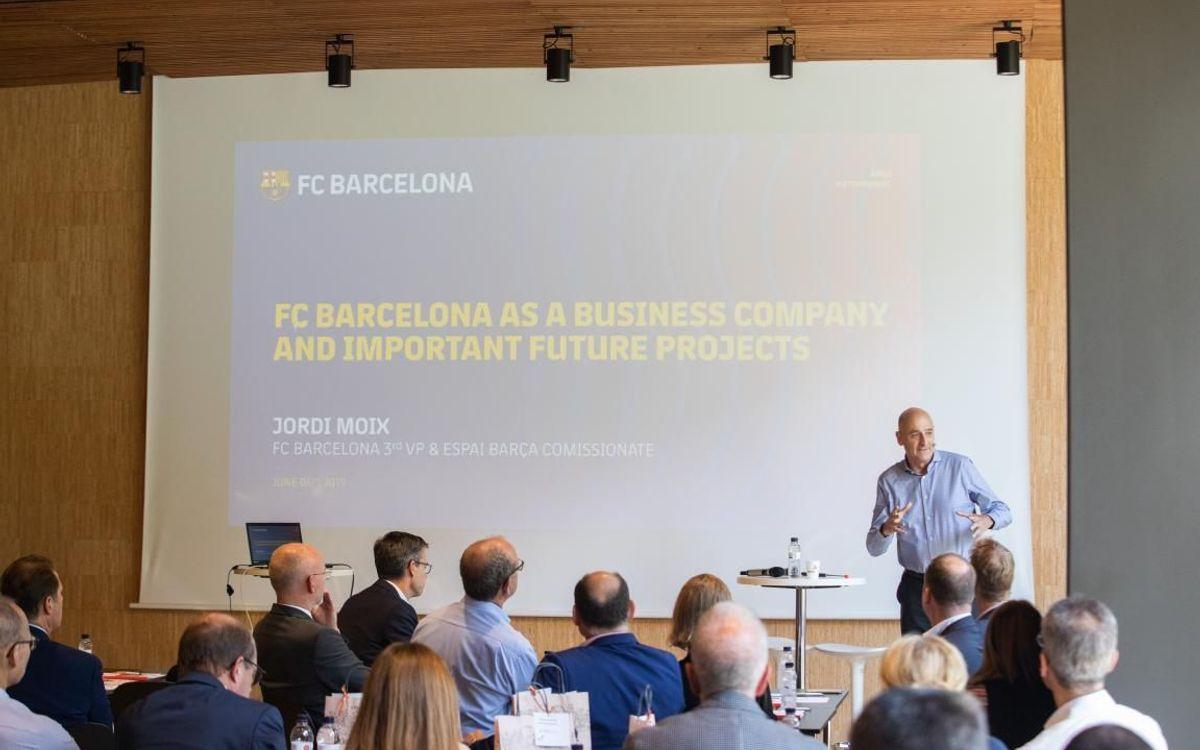 El model Barça arriba a un destacat grup de companyies alemanyes