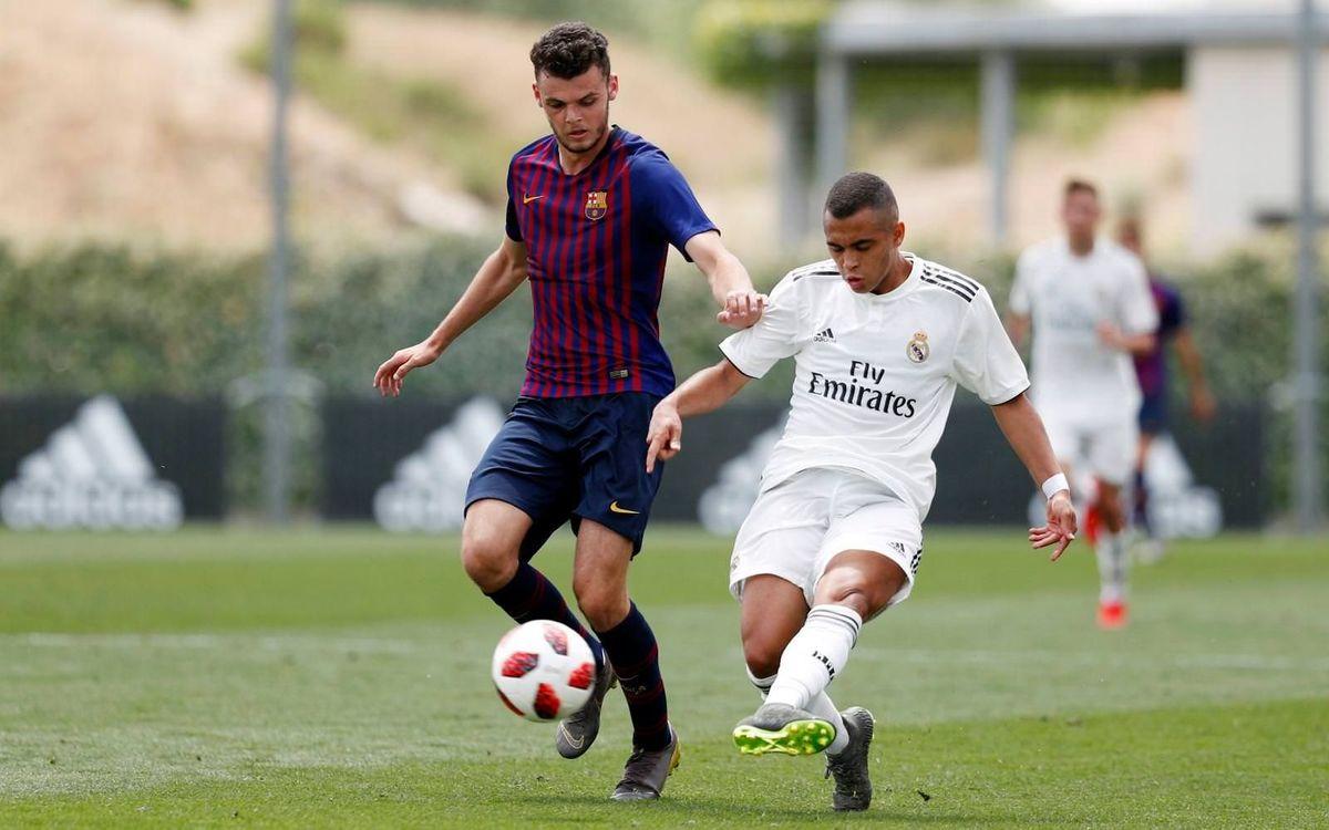 Real Madrid - Juvenil A: No llega la remontada (1-1)