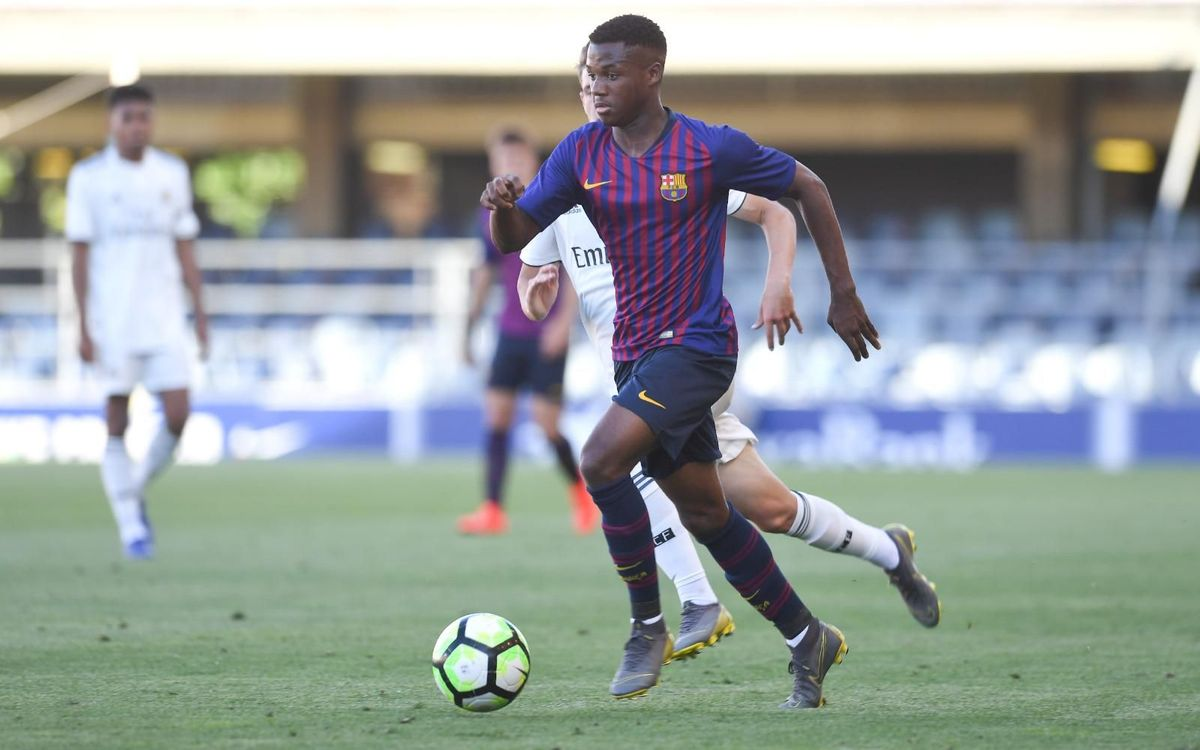 Reial Madrid 1-1 Barça U19A: Unable to complete the comeback