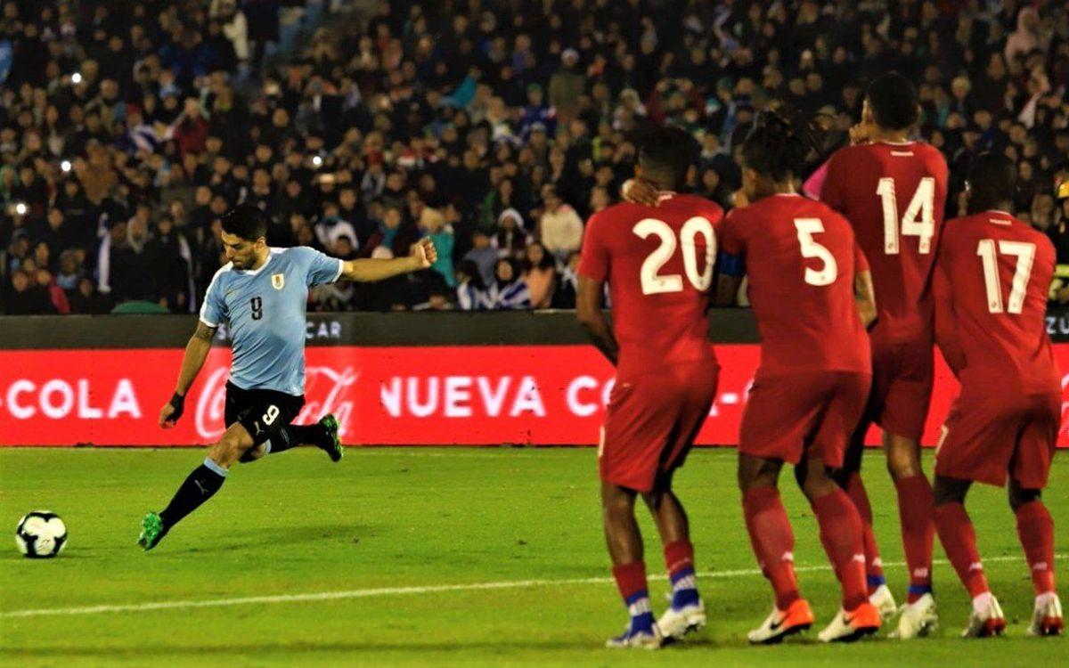 Suárez con Uruguay