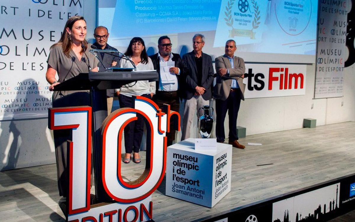 La docuficció 'La Sagi, una pionera del Barça' rep la primera menció del jurat del BCN Sports Film