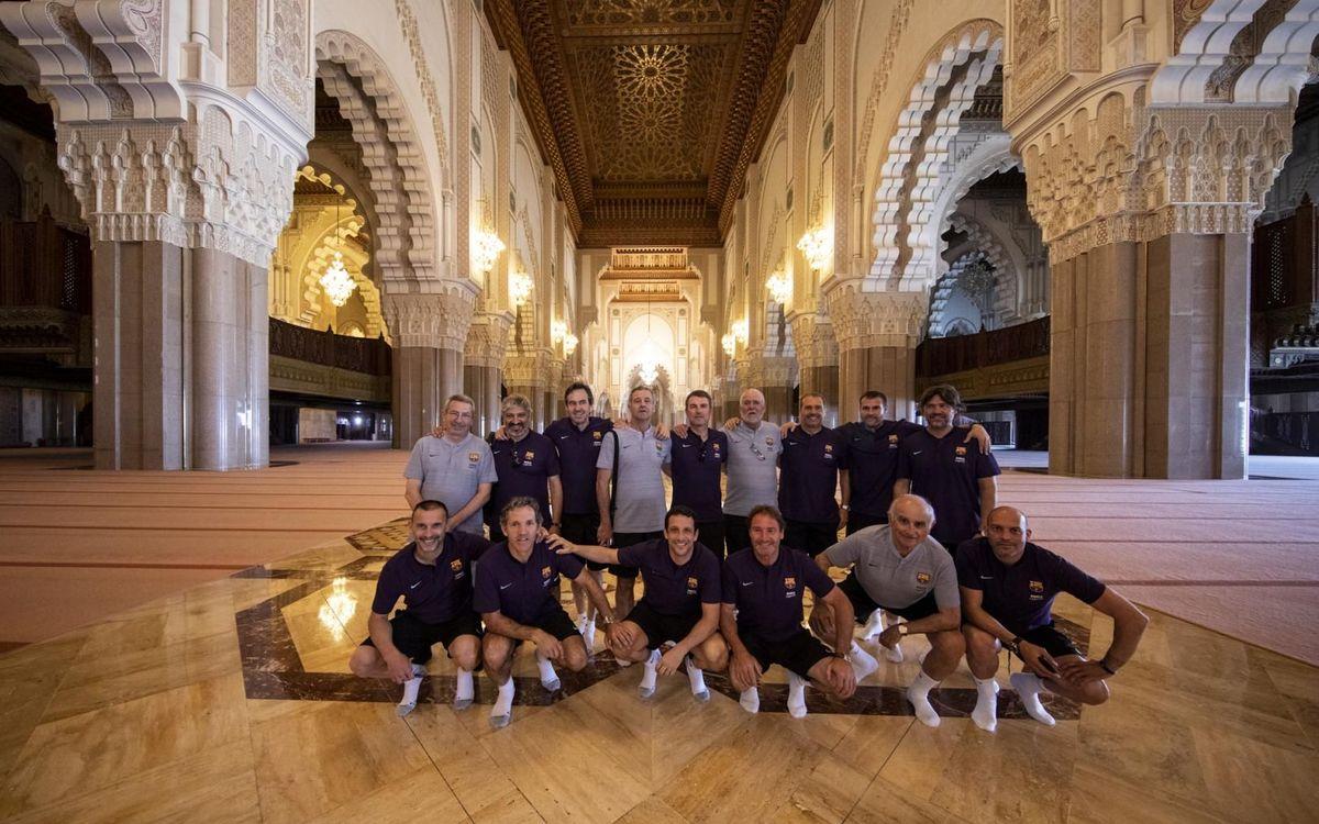 Los Barça Legends ya están en Marruecos