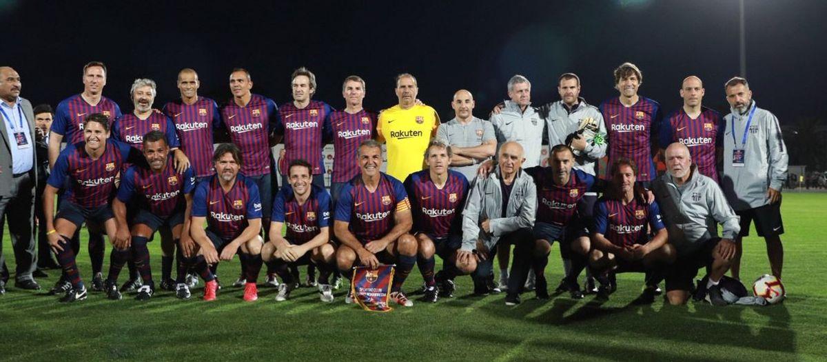 SCC Mohammédia - Barça Legends: Empat al Marroc (2-2)