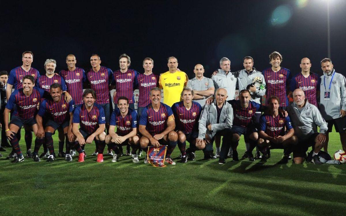 SCC Mohammédia - Barça Legends: Empate en Marruecos (2-2)