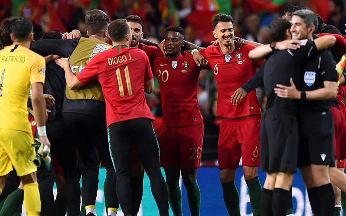 Semedo, campió de la Nations League