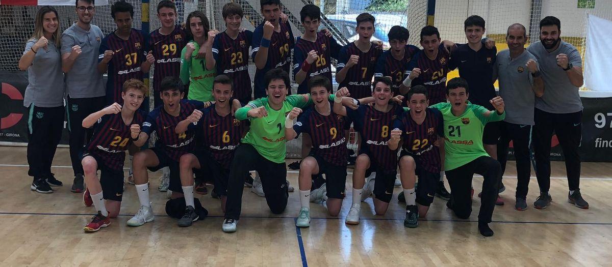 L'Infantil A, Campió d'Espanya