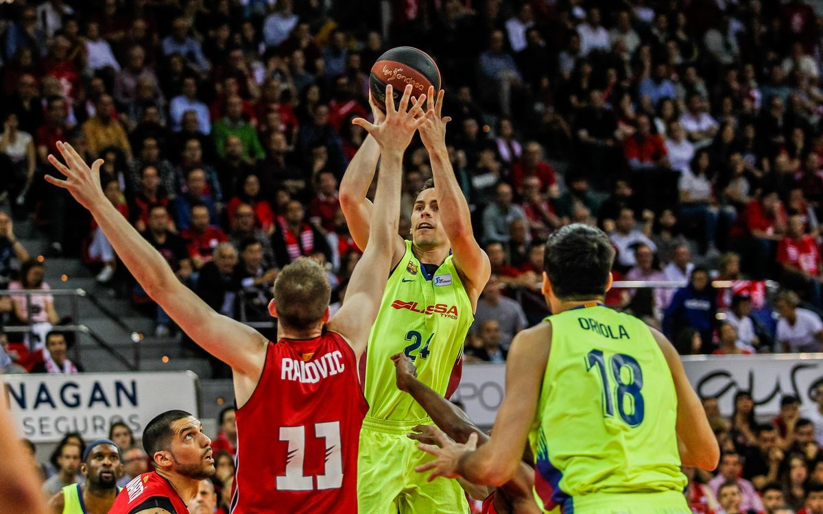 Tecnyconta Zaragoza 81–96 Barça Lassa: Into the final!