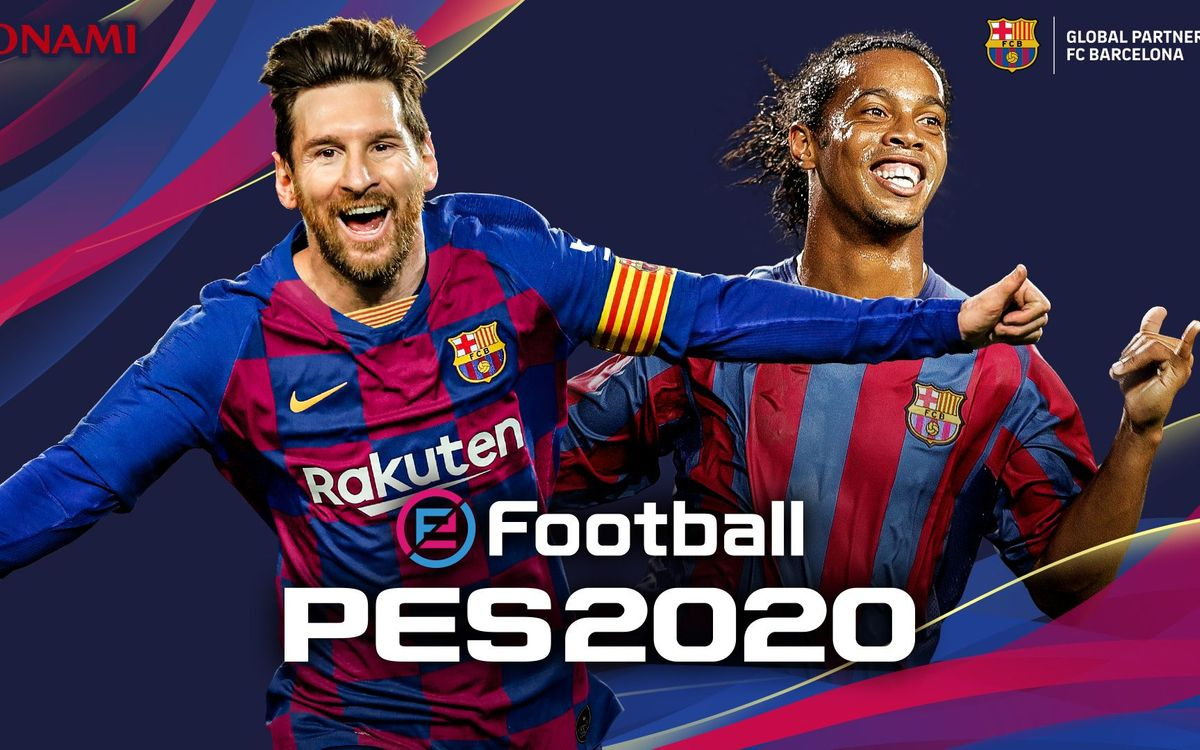 FC Barcelona renews agreement with KONAMI, with Messi to appear on the cover of the new edition of eFootball PES 2020