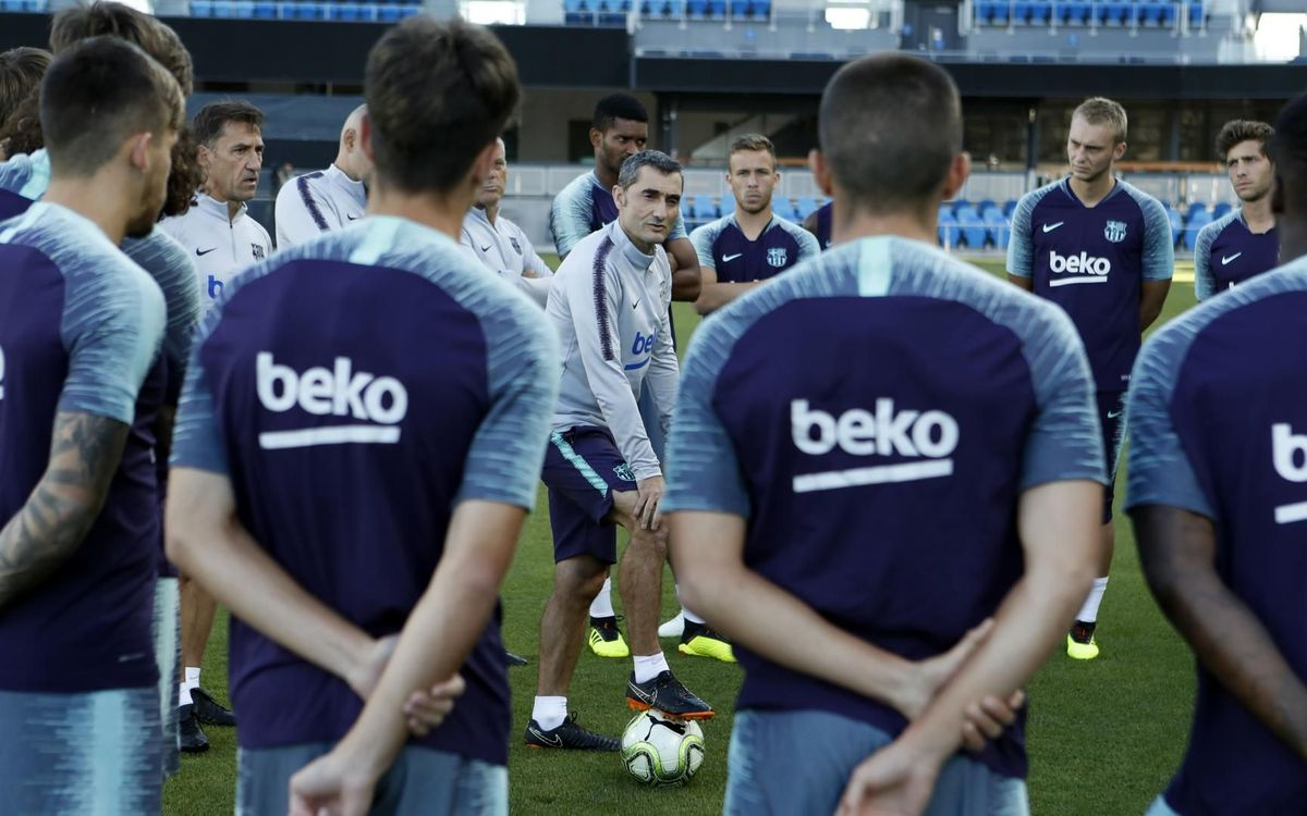The first team will begin pre-season on July 14