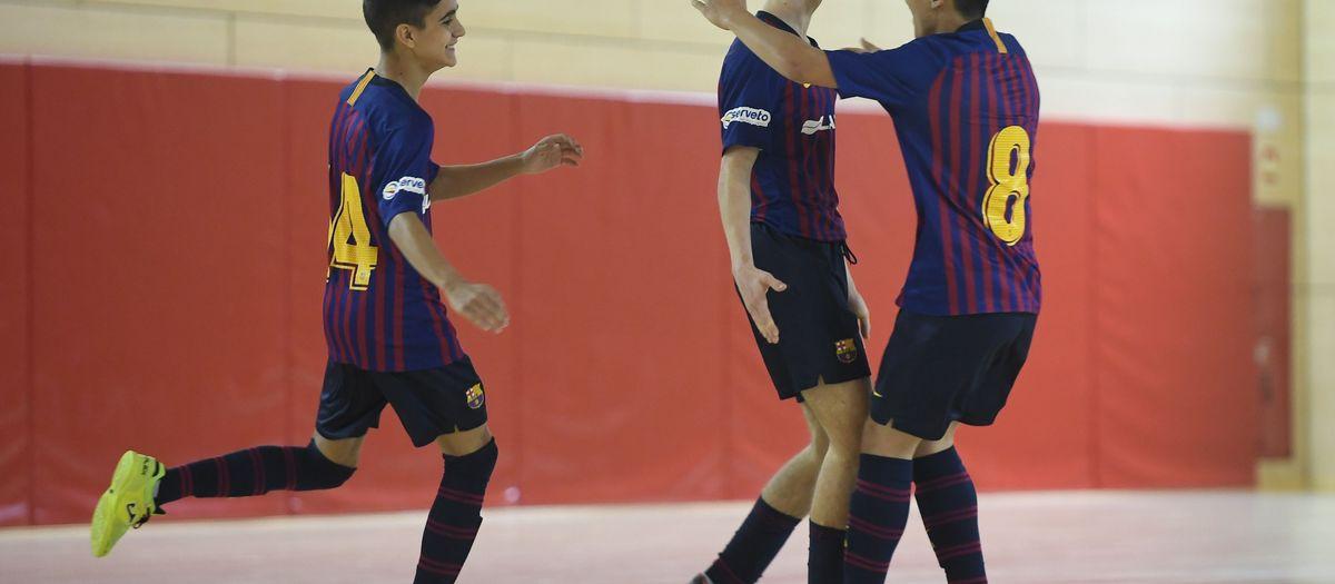 Quatre finals de Copa Catalunya de futbol sala