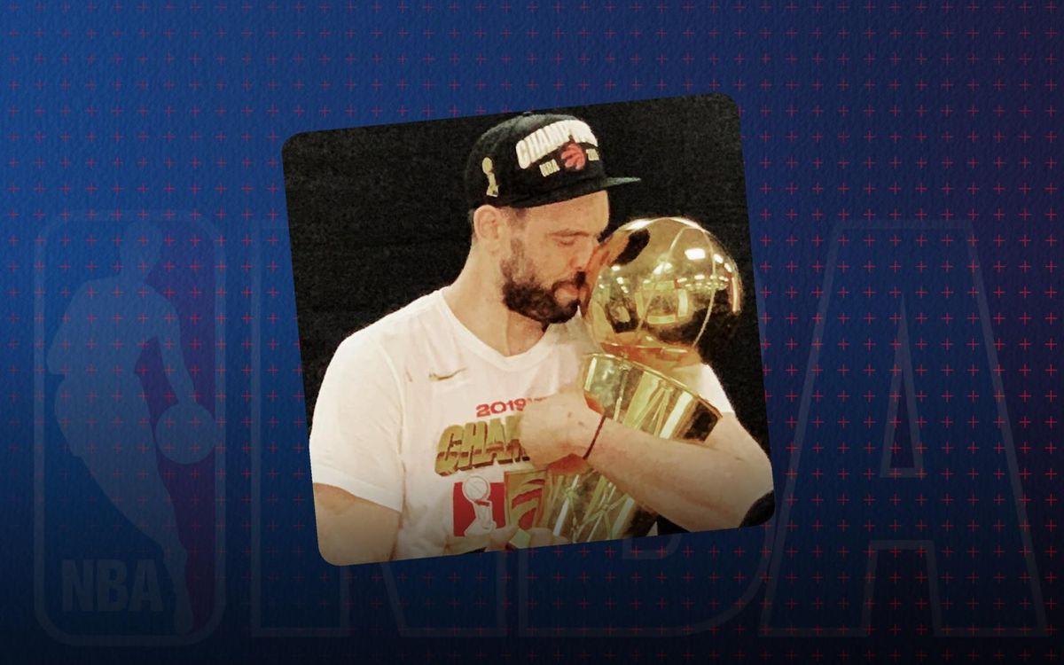 Marc Gasol, campió de l'NBA