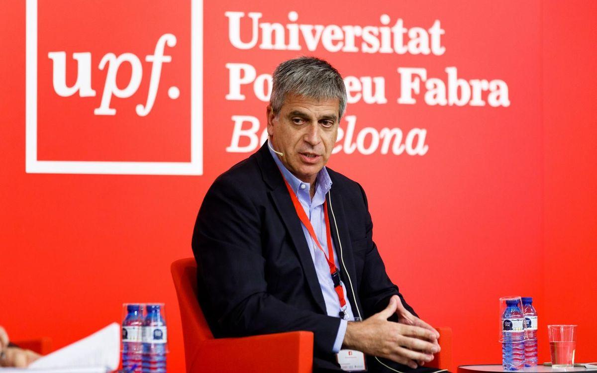Jordi Mestre participa a la taula rodona d''El cambio en el deporte profesional femenino'