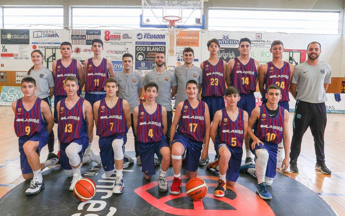 61/5000 El Infantil finaliza en cuarta posición el Campeonato de España