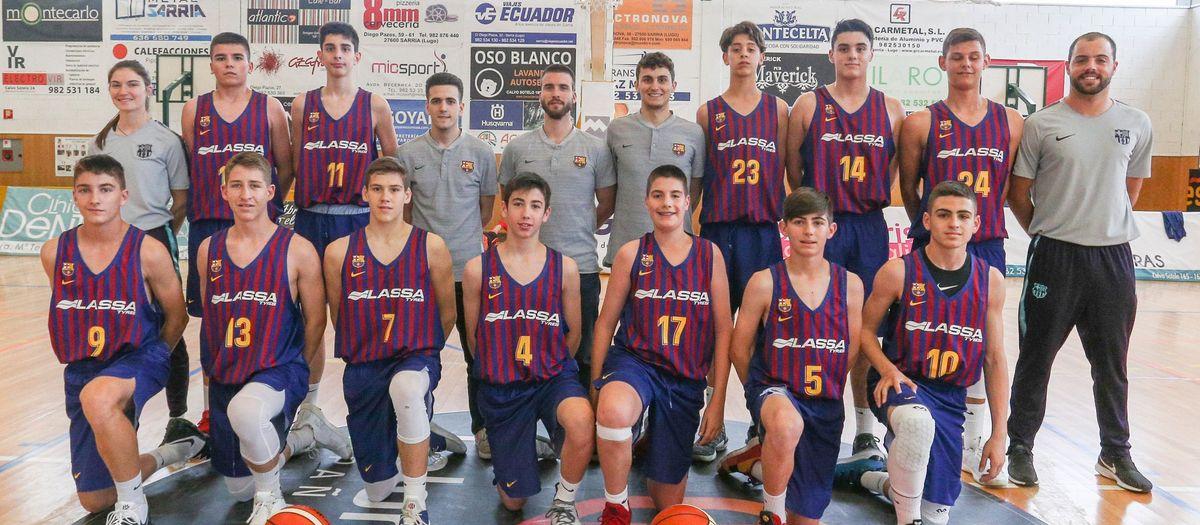 L'Infantil finalitza en quarta posició el Campionat d'Espanya