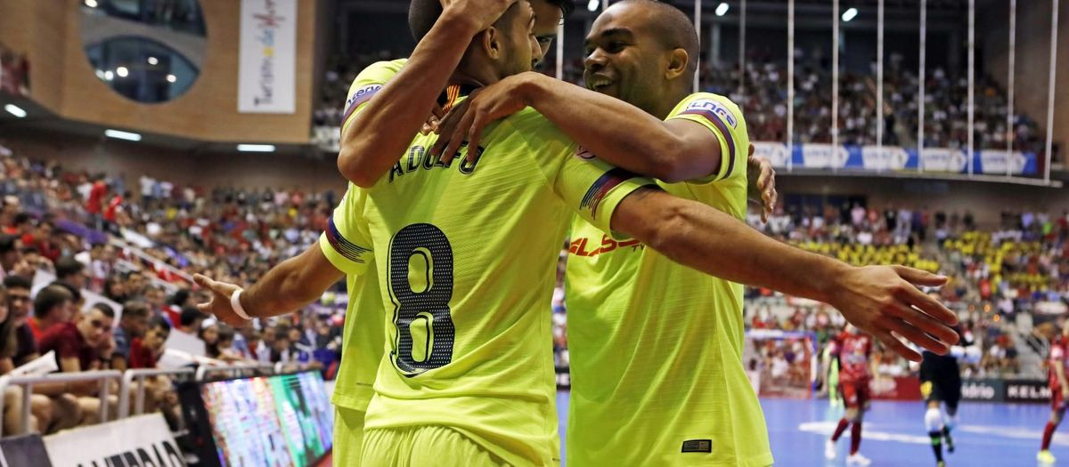 ElPozo Múrcia 3-7 FC Barcelona: Palau to decide the champion