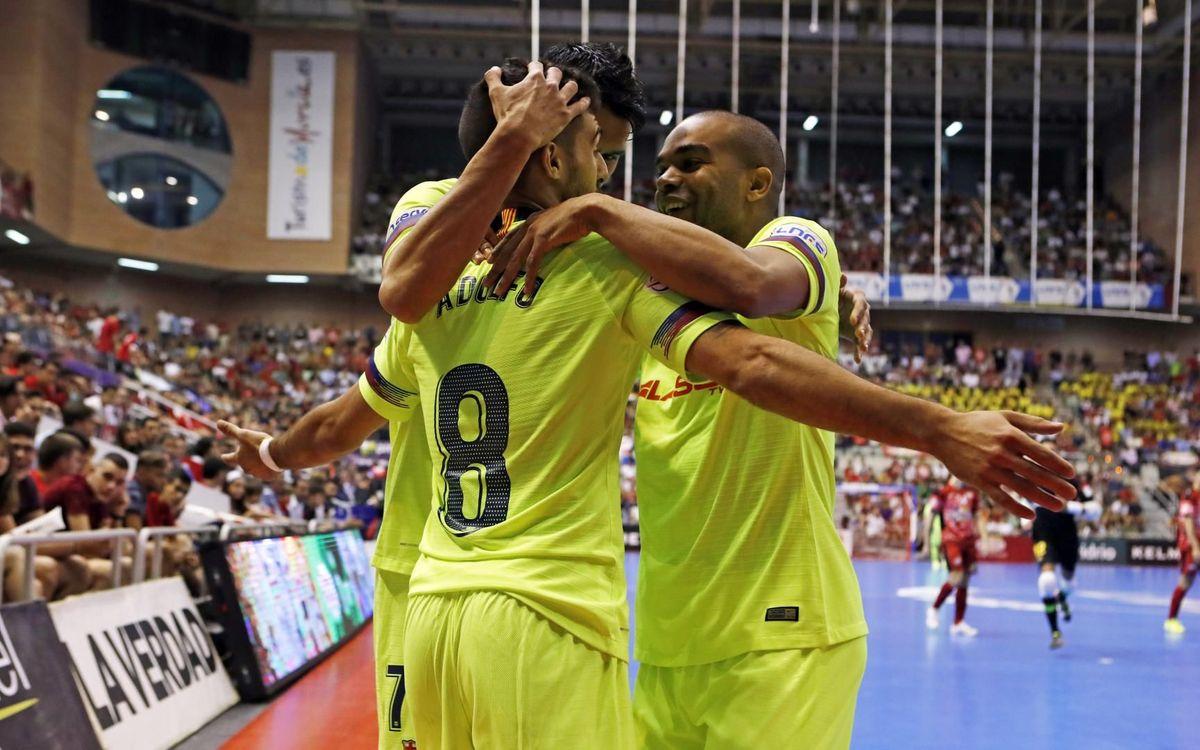 ElPozo Murcia - FC Barcelona: El Palau decidirá el campeón (3-7)
