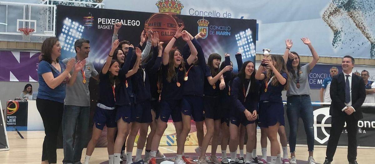 El infantil femenino, bronce en el campeonato de España