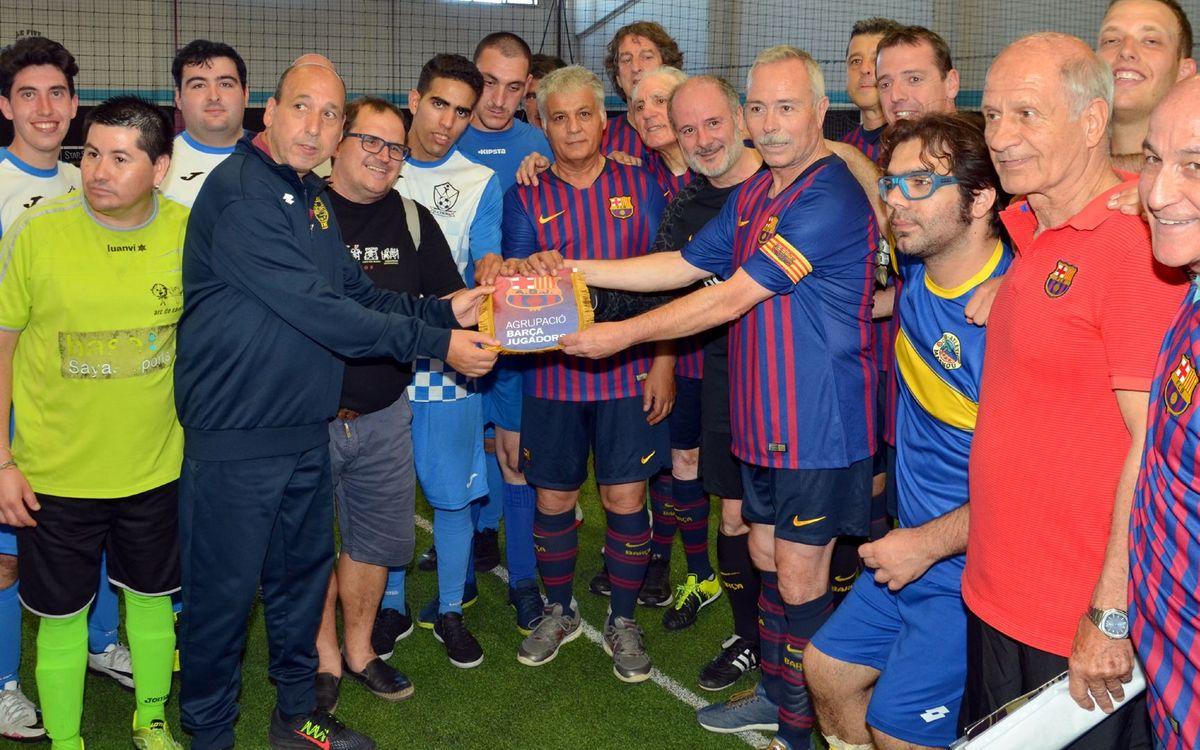 L'Agrupació participa en el torneig Solstaina i es solidaritza amb la diversitat funcional