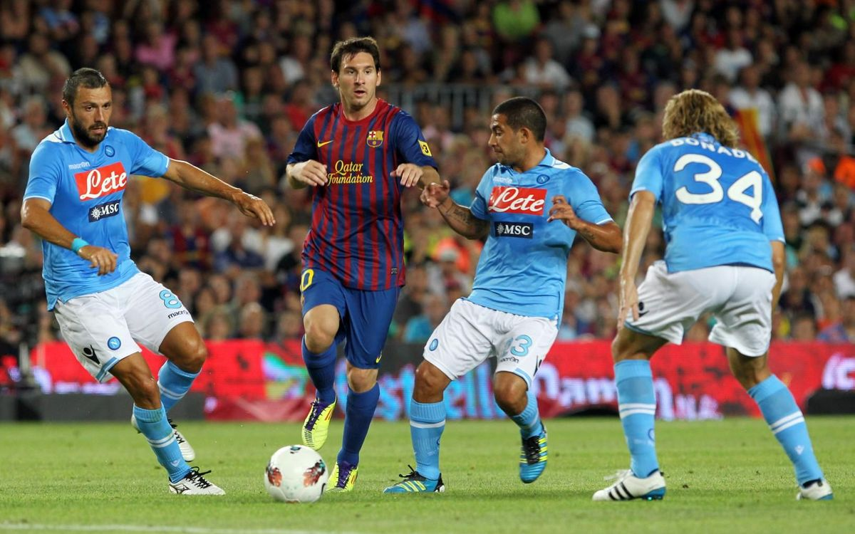 Barça and Napoli, three friendlies and more