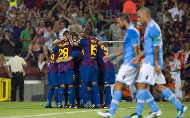 58264852827 HIGHLIGHTS | 2011 Joan Gamper Trophy: Barça - Napoli (5-0)