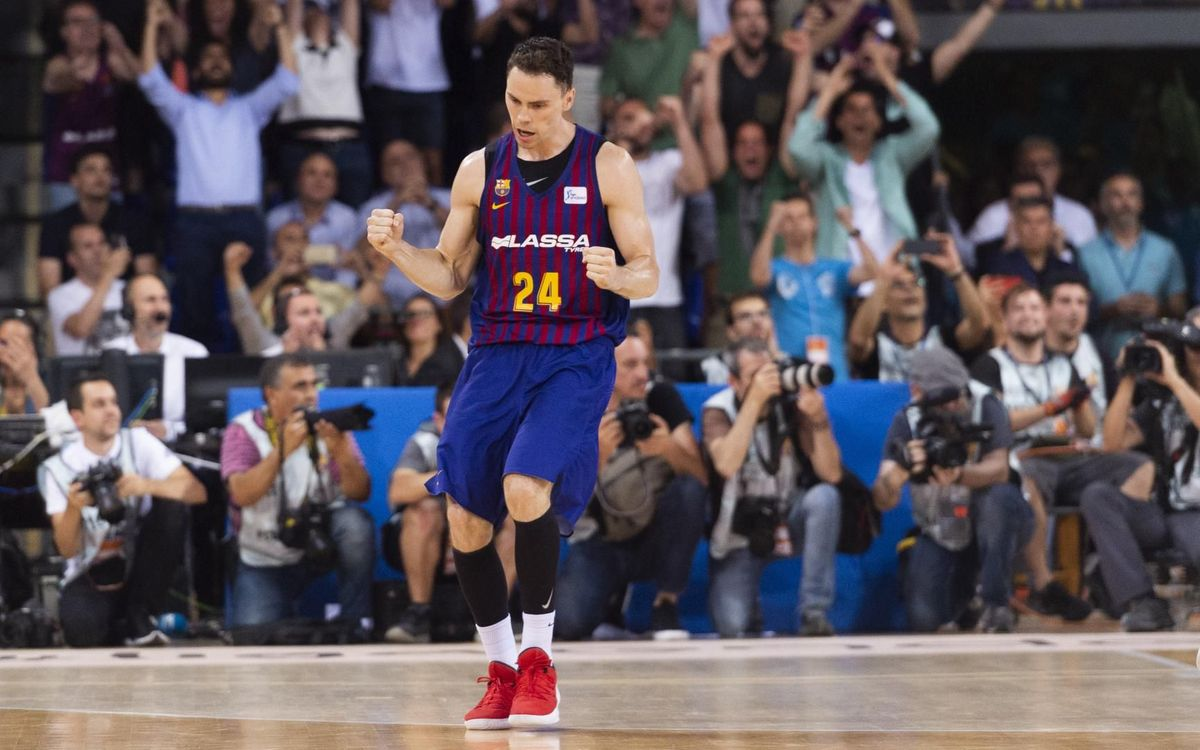 Last-gasp 78-77 win takes Barça Lassa into Game 4 against Real Madrid