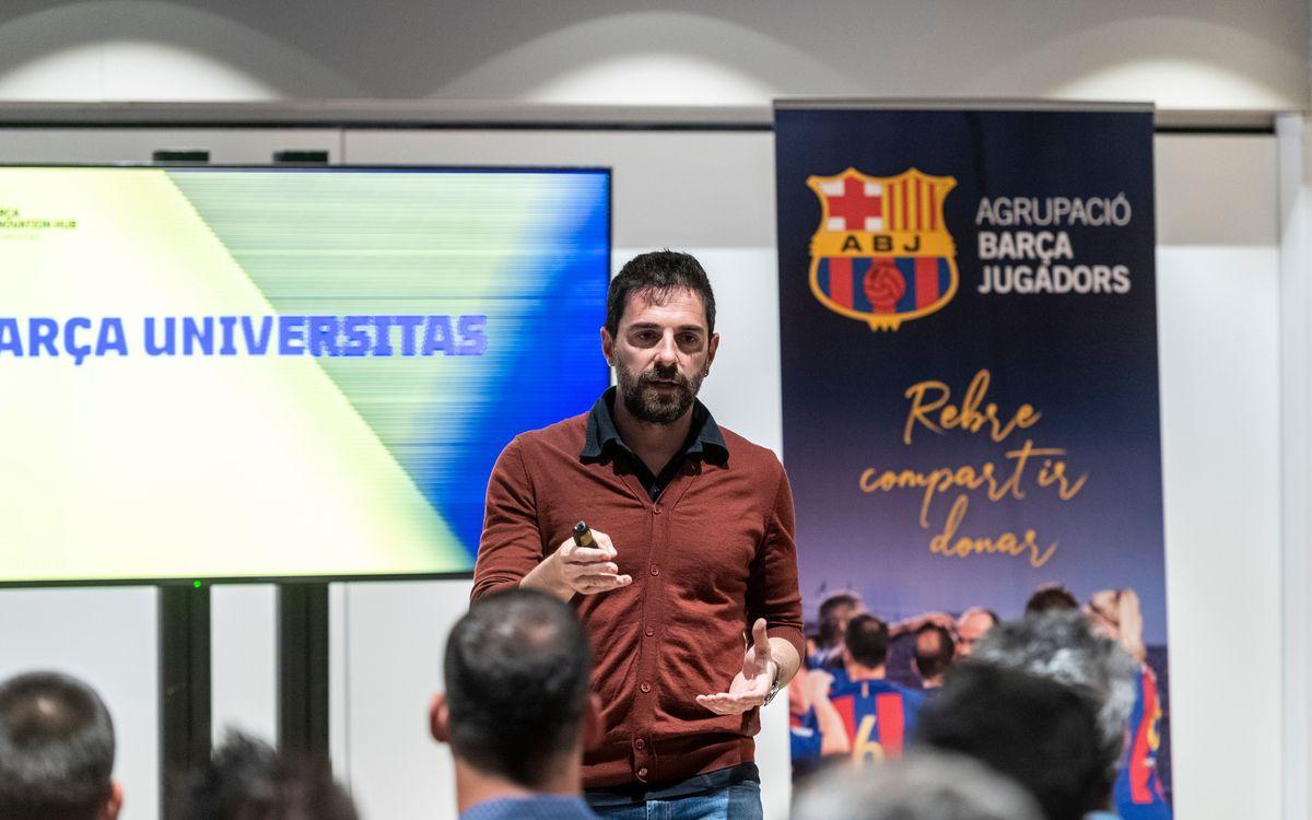 Més i millor oferta formativa als exjugadors del Barça