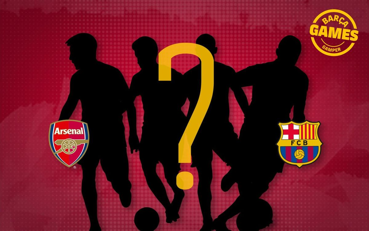 Which of these players have played for Barça and Arsenal?