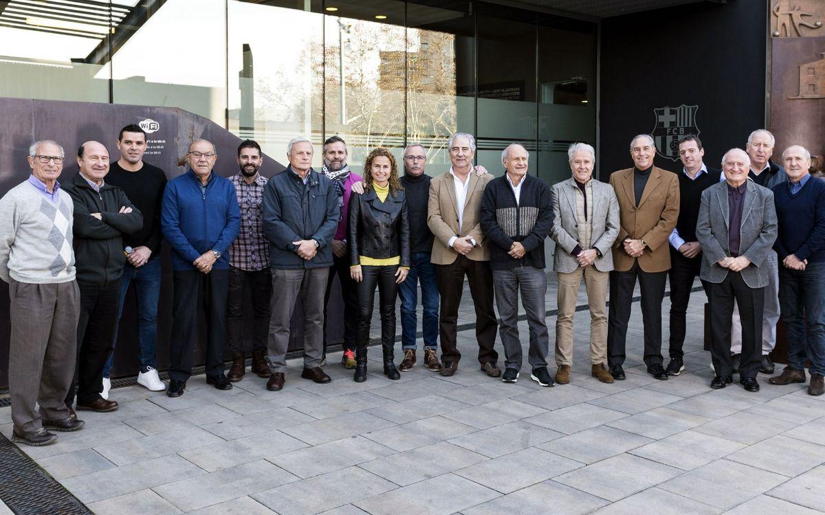 Junta de l'Agrupació Barça Jugadors / Junta de la ABJ / BPA's board of directors