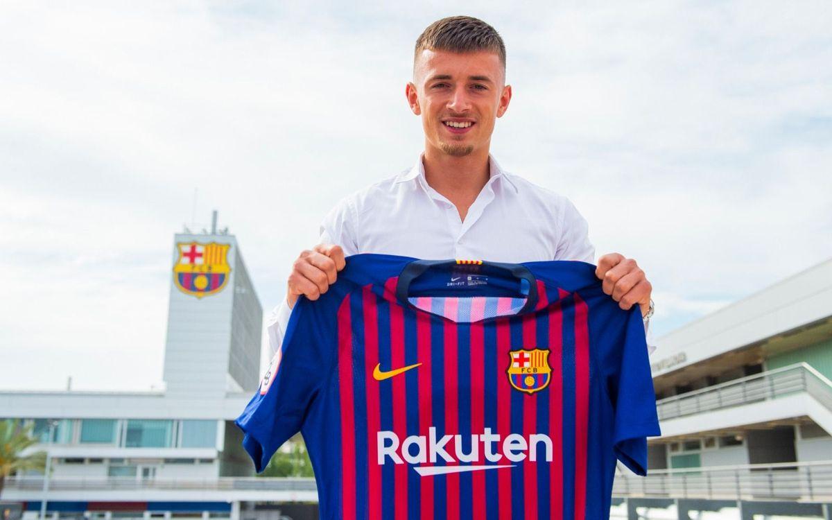 Mike van Beijnen joins Barça