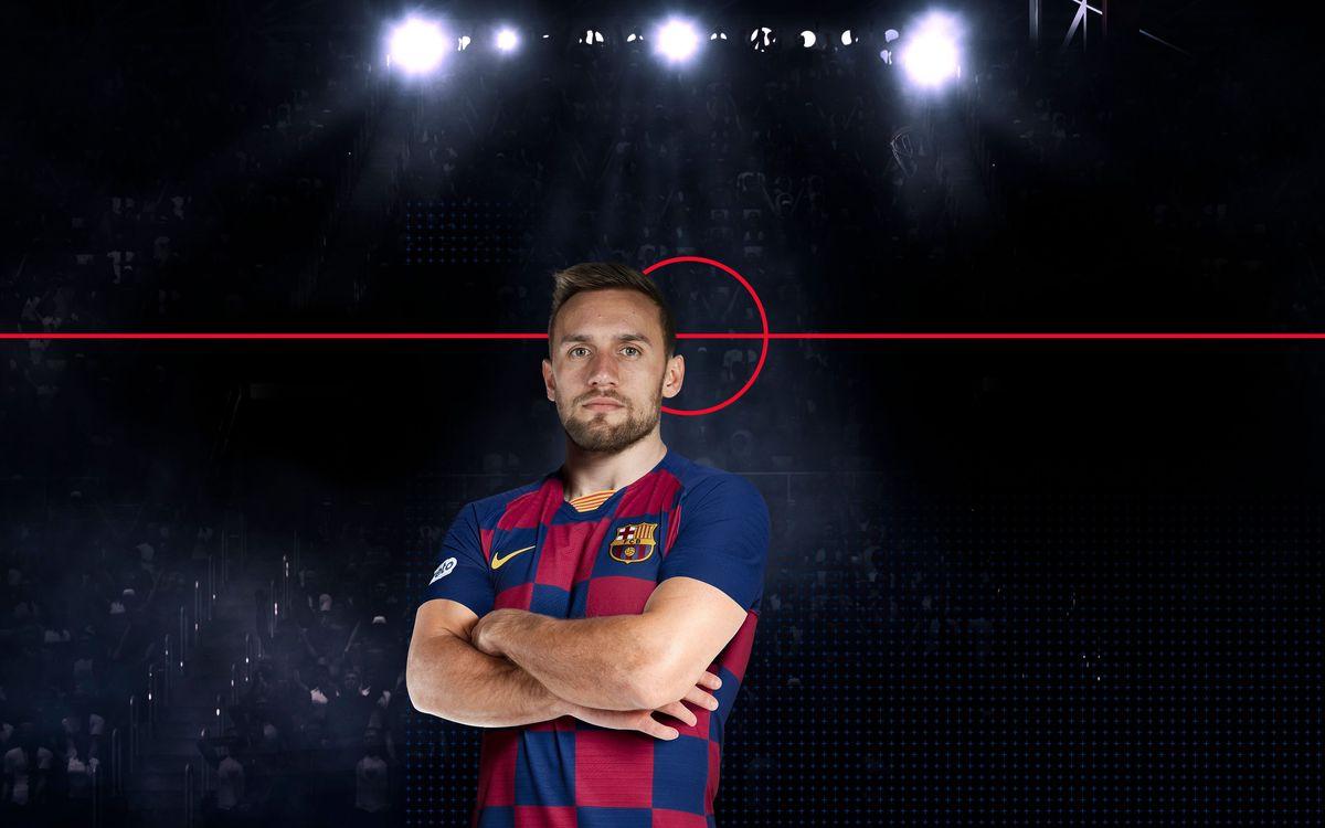 Luka Cindric, nou jugador del Barça Lassa