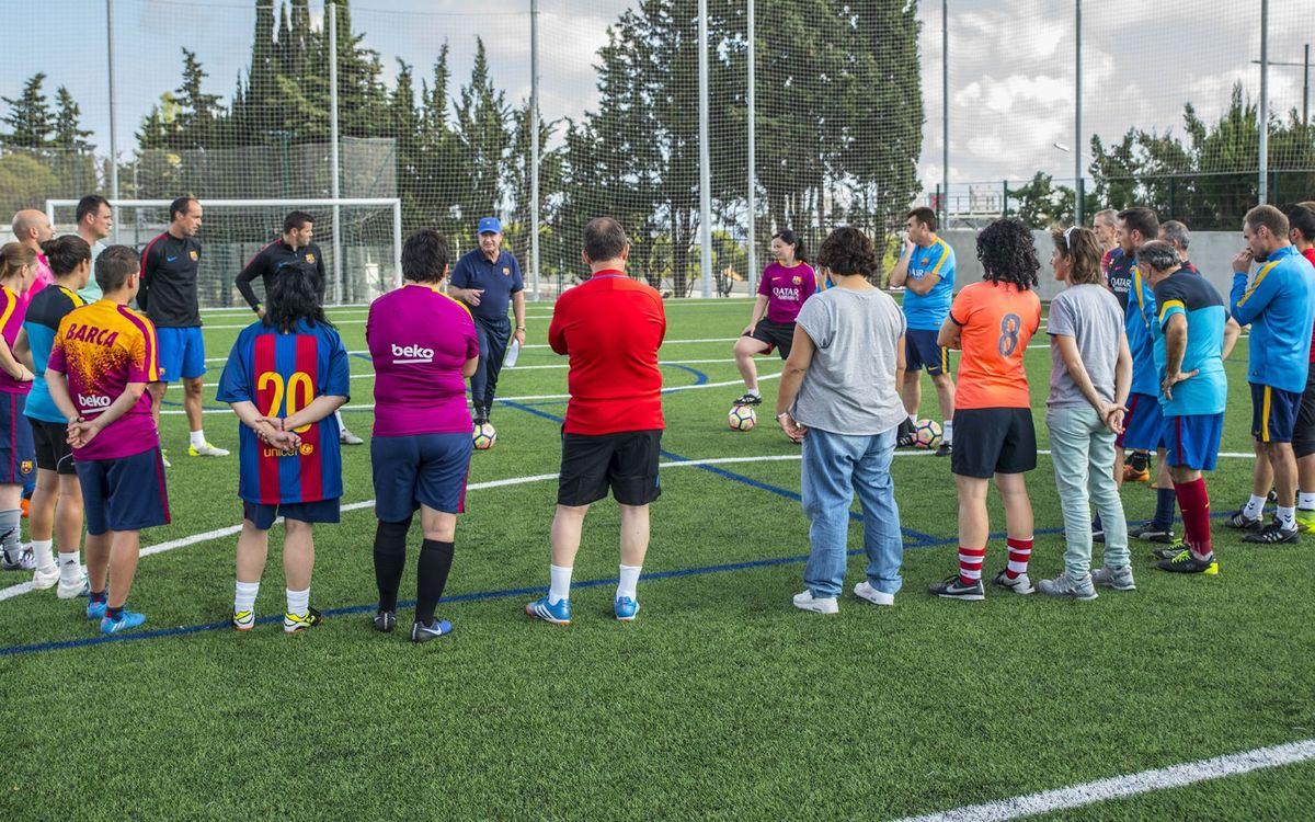 Los cursos del ámbito deportivo siempre incluyen una parte práctica / Pedro Valero